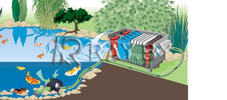 Фильтр безнапорный BioTec 30 - 2