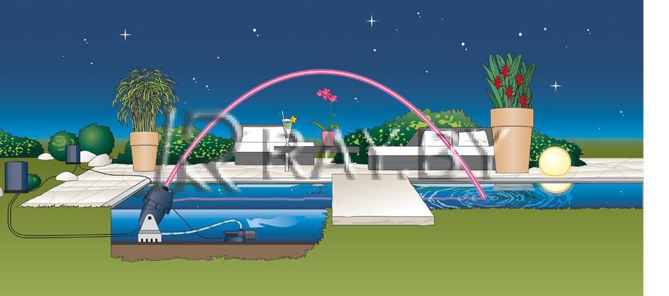 Фонтанный агрегат Jumping Jet Rainbow Star Set - 2